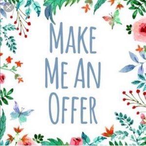 I Love Reasonable Offers!!!